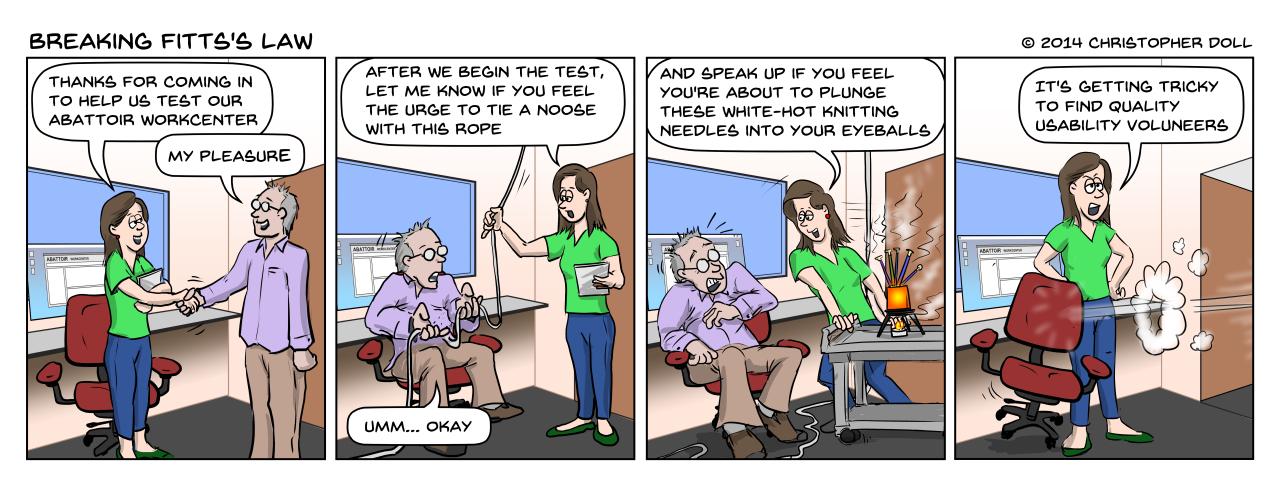 Usability Volunteer